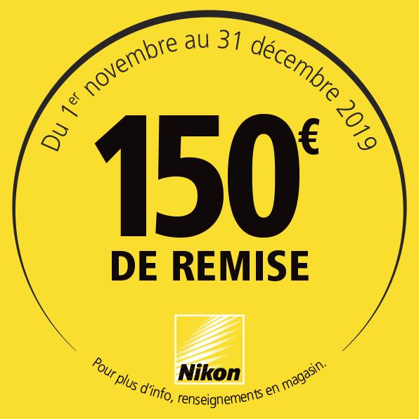 Offre Nikon Hiver 2019 - 150€